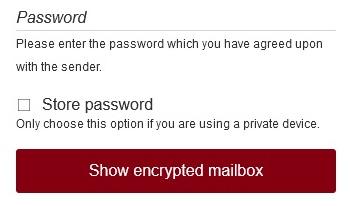 Tutanota Password