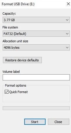 FormatOptions